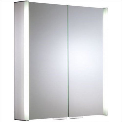 Roper Rhodes - Ascension Summit Double Mirror Glass Door Cabinet