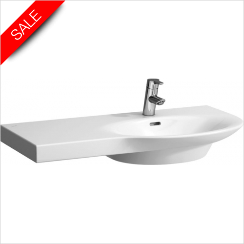Laufen - Palace Countertop Washbasin 900 x 460mm 1TH Shelf Left