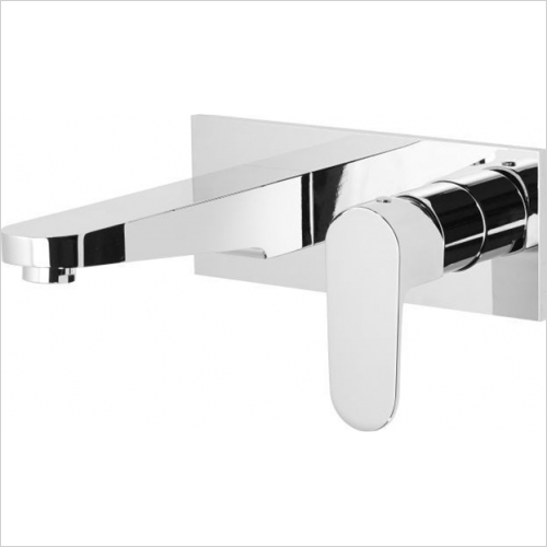 Roper Rhodes - Image Wall Mounted Basin Mixer Without Pop-Up Waste