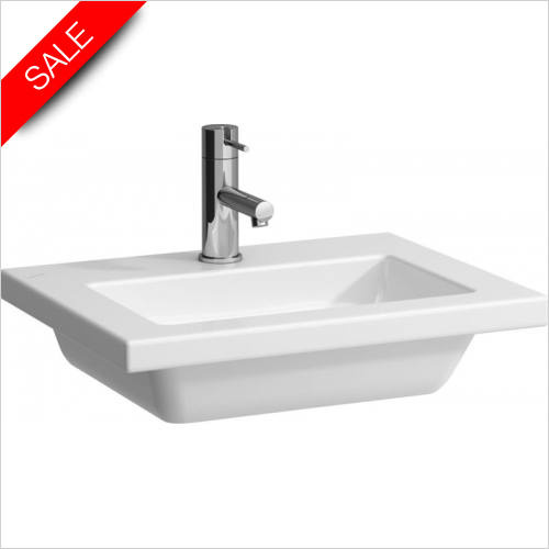 Laufen - Living Square Countertop Small Washbasin 500 x 380mm 1TH