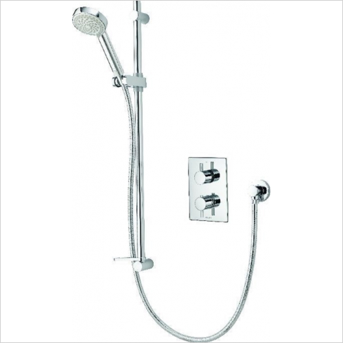 Aqualisa - Dream DCV Mixer Shower With Adjustable Head - HP/Combi