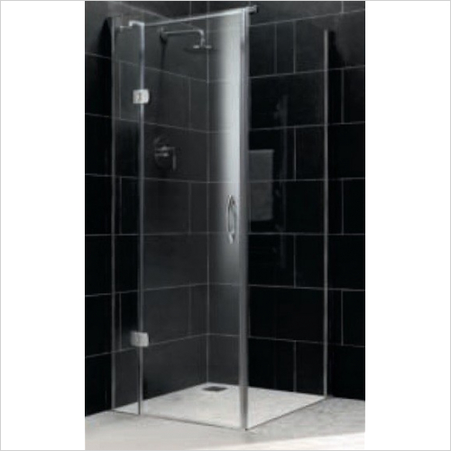 Impey - Frameless Side Panel 900mm