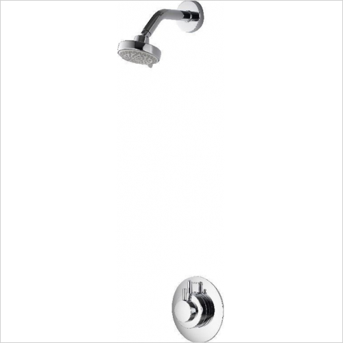 Aqualisa - Dream Concealed Mixer Shower With Fixed Head