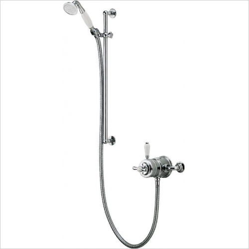Aqualisa - Aquatique Exposed Adjustable Head
