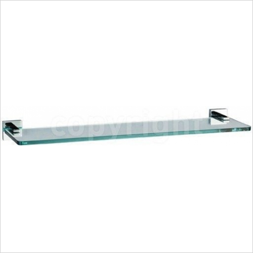 Crosswater - Zeya Glass Shelf 500mm
