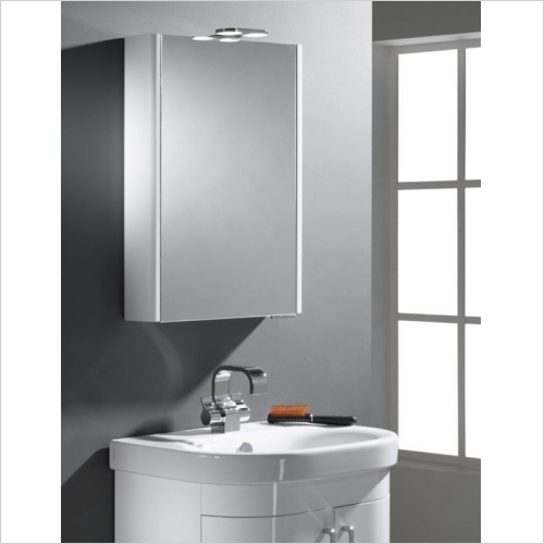 Roper Rhodes - Definition Phase Single Mirror Glass Door Cabinet