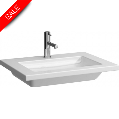 Laufen - Living Square Countertop Washbasin 650 x 480mm 1TH