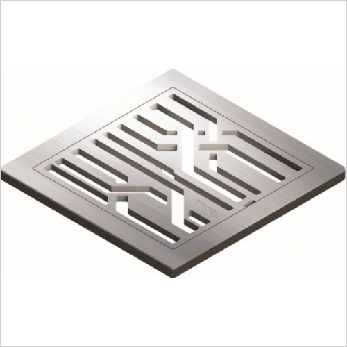 Impey - Fibre Grate With Gully Vertical Outlet