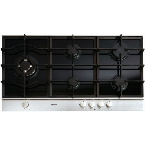 Caple Appliances - Sense Gas On Glass Hob 900mm