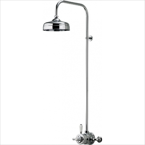 Aqualisa - Aquatique Exposed Fixed 8'' Drencher Head