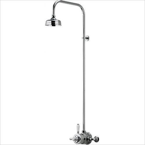 Aqualisa - Aquatique Exposed Fixed 5'' Drencher Head