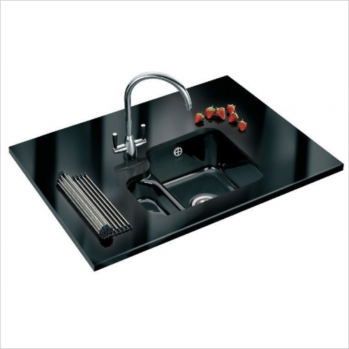 Franke - V&B 1.5 Bowl Ceramic Undermount Sink Designer Pack