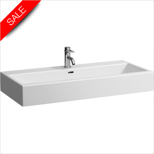 Laufen - Living City Washbasin 1000 x 460mm 1TH