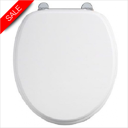Burlington - Bar Hinge Toilet Seat