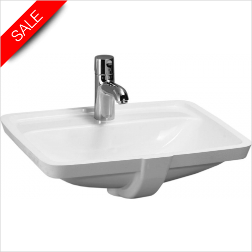 Laufen - Pro A Built In Basin With Tap Bank 525 x 400mm 1TH