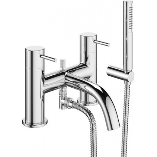 Crosswater - Mike Pro Deck Mounted Shower Mixer With Kit