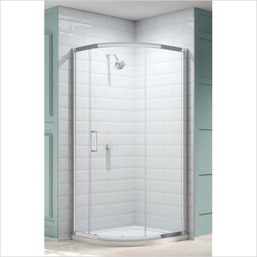 Merlyn - 8 Series 1 Door Quad 900mm Incl MStone Tray