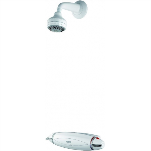 Aqualisa - Aquarian Thermo Exposed Mixer Shower