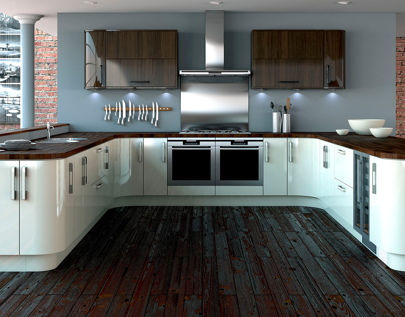 Uk kitchens and bathrooms symphony deliveries for Lewis furniture kitchen units