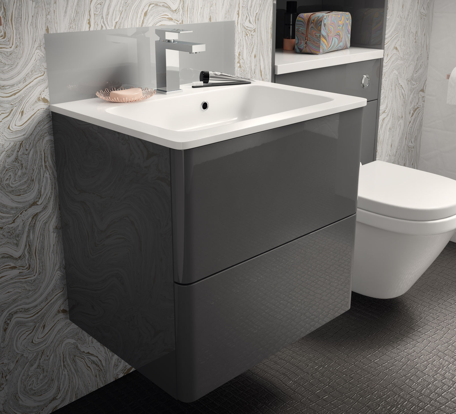 UK Kitchens and Bathrooms - Symphony Fiora