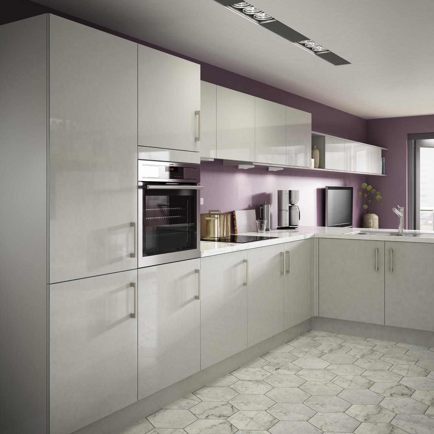 Uk Kitchens And Bathrooms Symphony Kitchens Modern